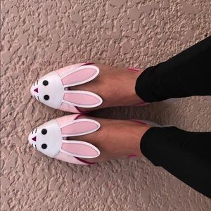 Katy Perry The Jessica Bunny Rabbit Ballet Flats
